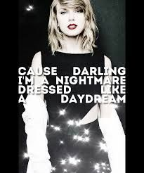 Never thought I'd be a Swifty fan but dear lord I love this song... and this quote, so meee