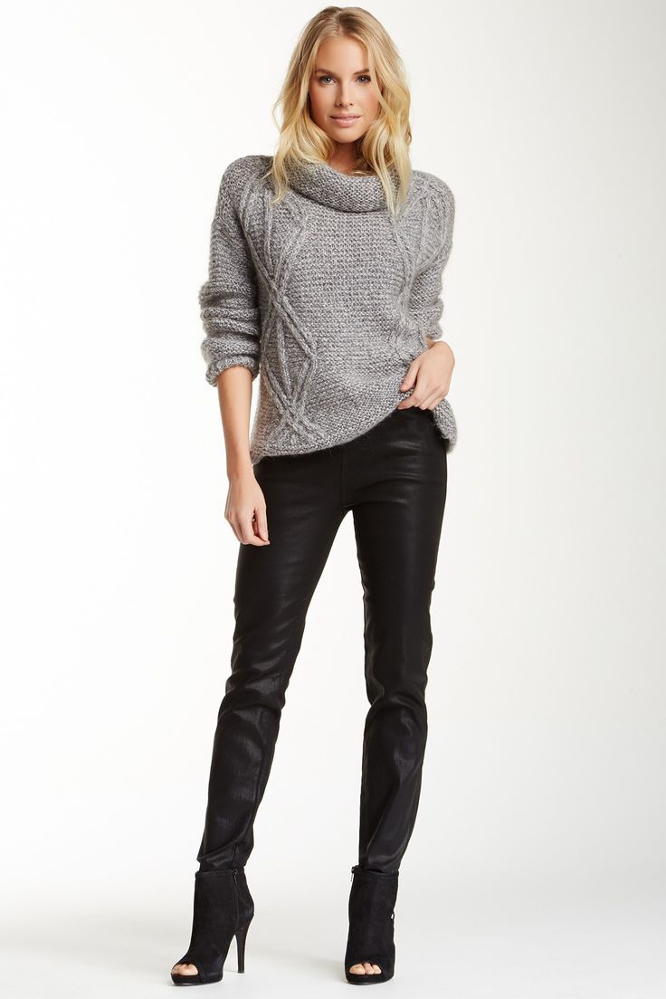 NYDJ Gia Coated Legging by NYDJ on @HauteLook