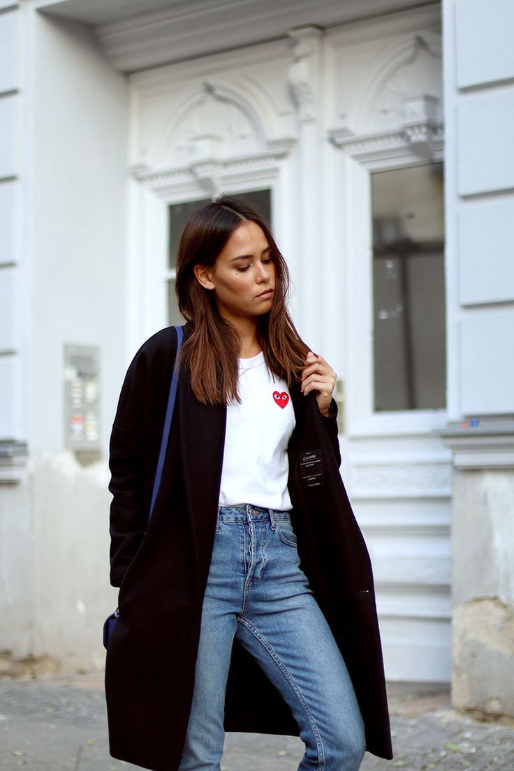 Oversized Coat from All Saints, Girlfriend Jeans from Topshop, Givenchy Obsedia Bag, Chloé Lauren Flats - women's side bag, small ladies bags, bag purse *ad