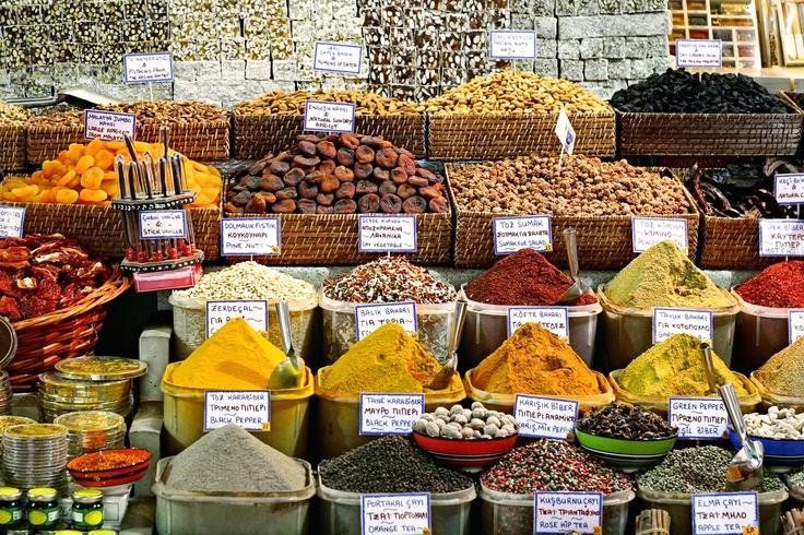 Maroc - Marché aux épices