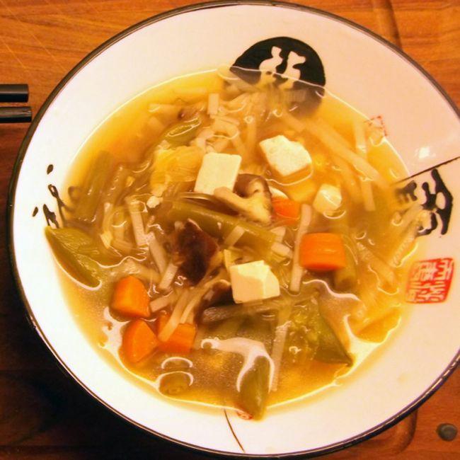Zuppa Giapponese - Primi - RicetteVegan.it