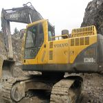 Used Volvo 210B excavator is available in Shanghai Jiangchun that it is a main supplier. Those used excavators...