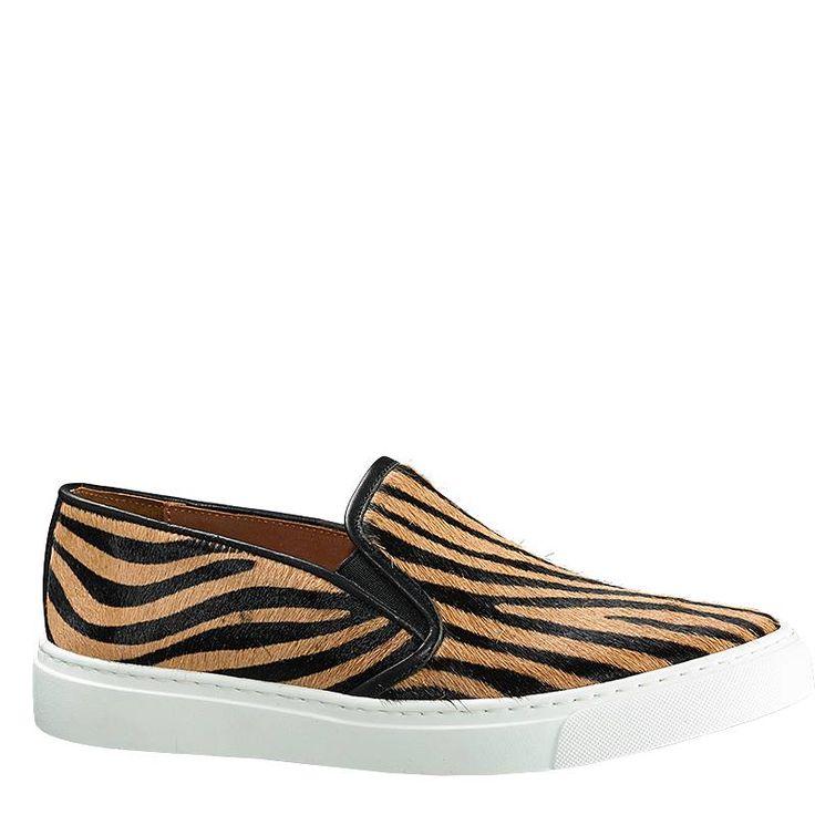 Slippers Zebra Beige