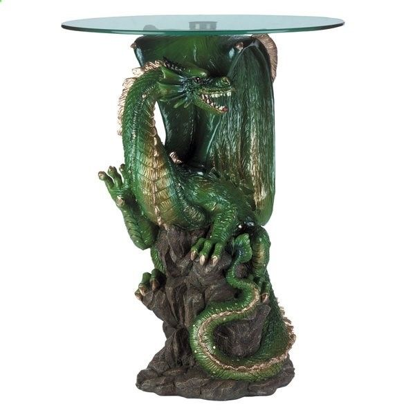 Ideas Original to decorate your table this season Ideas Original to decorate your table this season Decorate your home with legend and lore with the help of this dramatic dragon accent table. This winged beast is painted and cast with fine details, and the round glass tabletop lets his presence shine through. - Lets see some ideas to renovate our table for some celebration or special food. Or just if you feel like renovating your table. 10 original things to decorate your house this se...