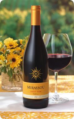 Pinot Noir | California Pinot Noir Wine | Fruit Red Wine | Mirassou