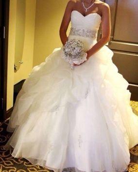 Mori Lee Wedding Dress $820
