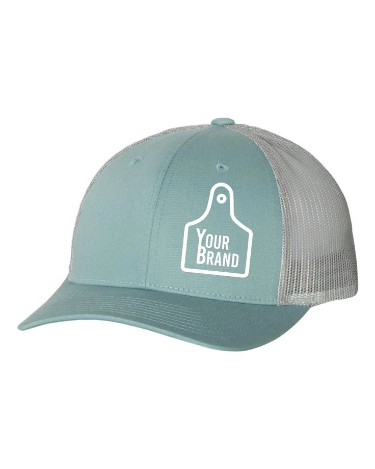 Cow tag branded 115 hat hats cow unique logo