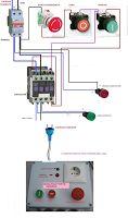 Esquemas eléctricos: MARCHA PARO Y PARO DE EMERGENCIA