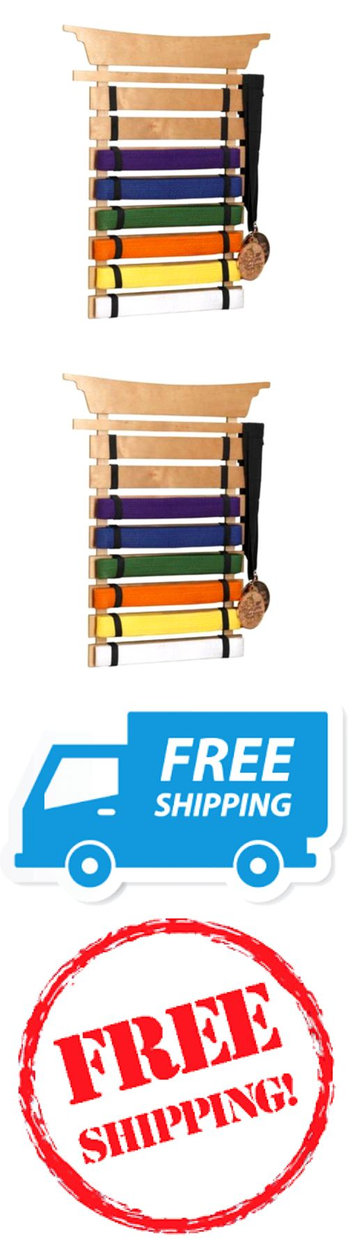 Other Combat Sport Supplies 16044: No.1 Martial Arts Belts Holder Rack Wall Display Karate Kung Fu Tae Kwon Do Nib -> BUY IT NOW ONLY: $30.64 on eBay!