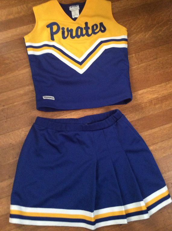 Vintage Cheerleading Uniform / Cute Cheerleading Uniform / Cheerleader Halloween Costume