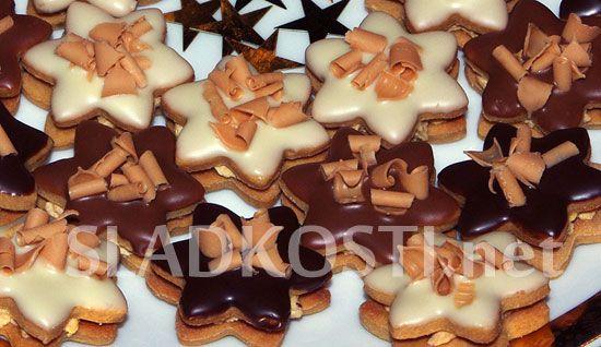Karamelové hvězdičky s hoblinkami