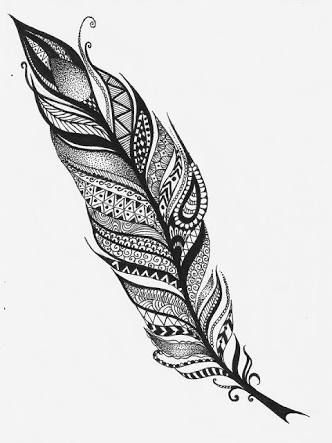 8 Best Feather Contours Images On Pinterest Feathers Clipart