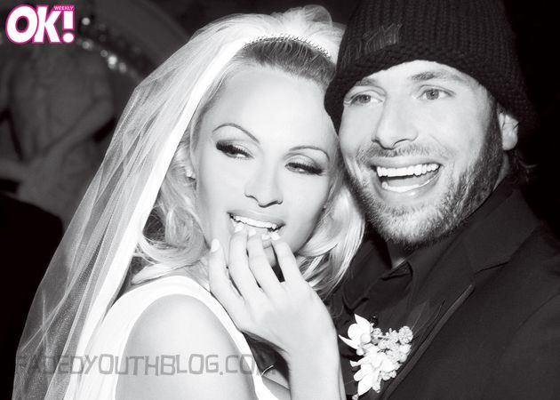 wedding-pic-with-Pamela Anderson and Rick Salomon 2014