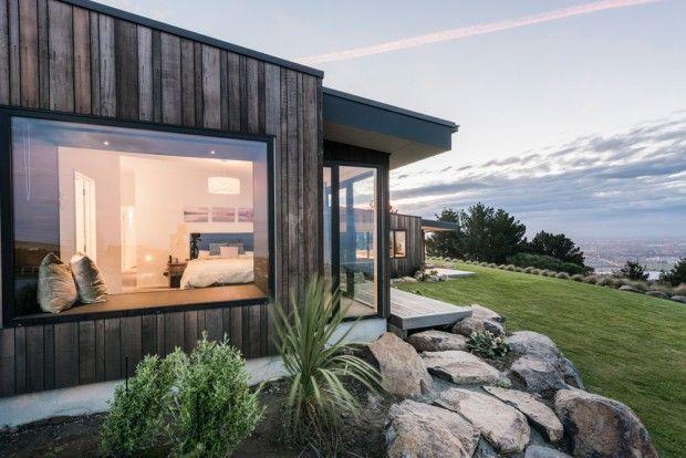 Mt pleasant home maison familiale moderne en nouvelle zélande par cymon allfrey architects