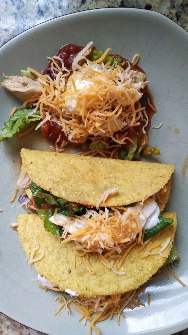 21 Day Fix Shredded Chicken Tacos