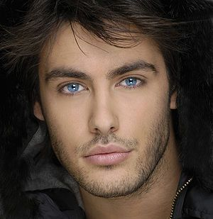 Kostas Martakis, I love his beautiful blue eyes.