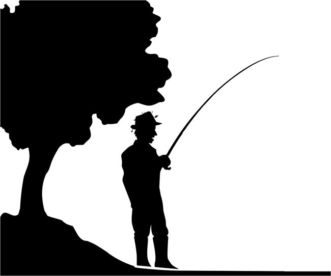 Quickly and easily create a design inspired by the oudoors with our Lakefront Fishing Painting Stencil