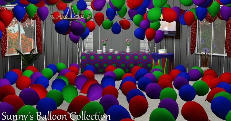 Letter Baloons S