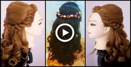 Wedding Hairstyle || Asian Wedding Hairstyles || Easy Wedding Hairstyle || Curly