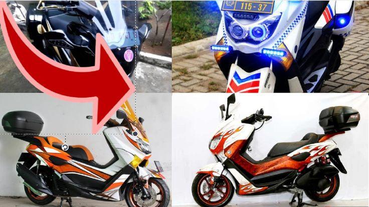 Keren!!! Full Modifikasi Motor Matic Sport Yamaha Nmax Jadi Super Keren ...