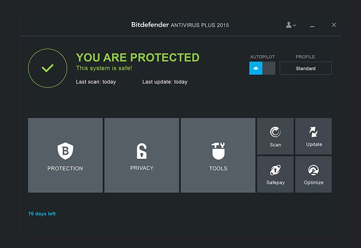Bitdefender Antivirus Plus 2015 screenshot