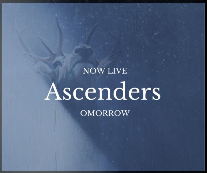 . The Moment We Have All Been Waiting For Is Finally Here .ASCENDERS OMORROW IS NOW LIVE  Title: Ascenders OMORROW  Series: The Ascenders Saga  Author: CL Gaber  Genre: Paranormal Urban Fantasy Romance  Release Date: May 25 2017  Hosted By Teaser Addicts