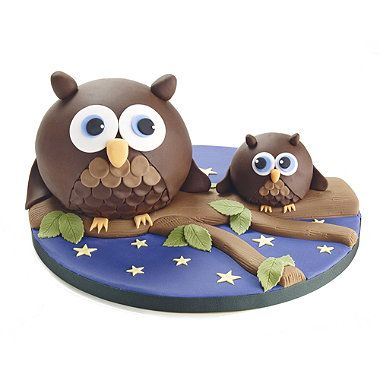 Love these really intricate wee owls eh Emma?! Hemisphere Cake Pans - From Lakeland