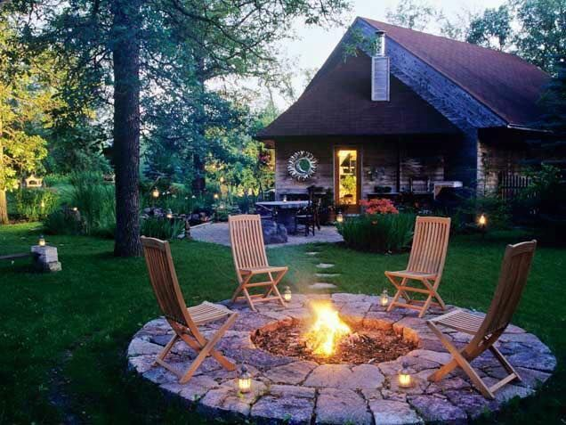 Who wants to sit in one of these chairs by the fire?