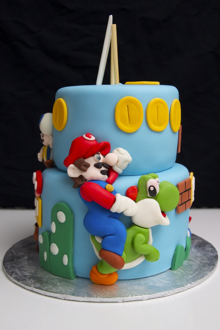 Mario Brother Cake Images : Super Mario Bros Cake The Goods Pinterest Mario bros ...