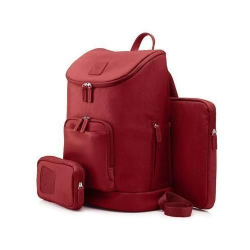 """15.6"""""""" Red Ladies Backpack P595-HPT0E14AA"""
