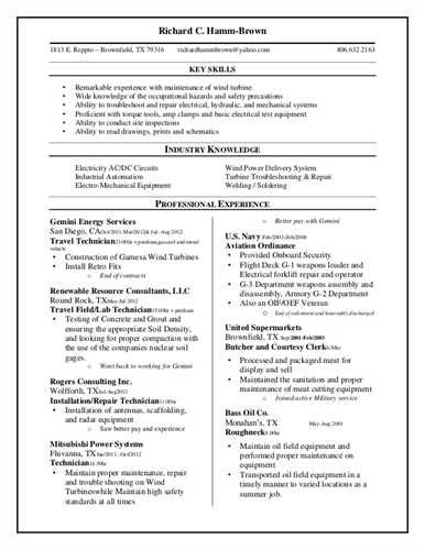 customer service resume skills and abilities
