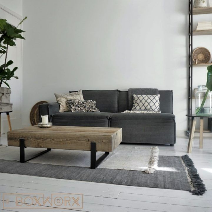 Meer dan 1000 idee n over industri le salontafels op pinterest koffietafels houten - Muur jielde ...