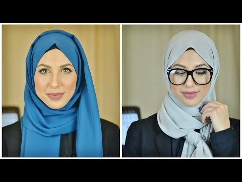 Professional Hijab Styles | Hijab Tutorial | Hijabs by Hanan - YouTube