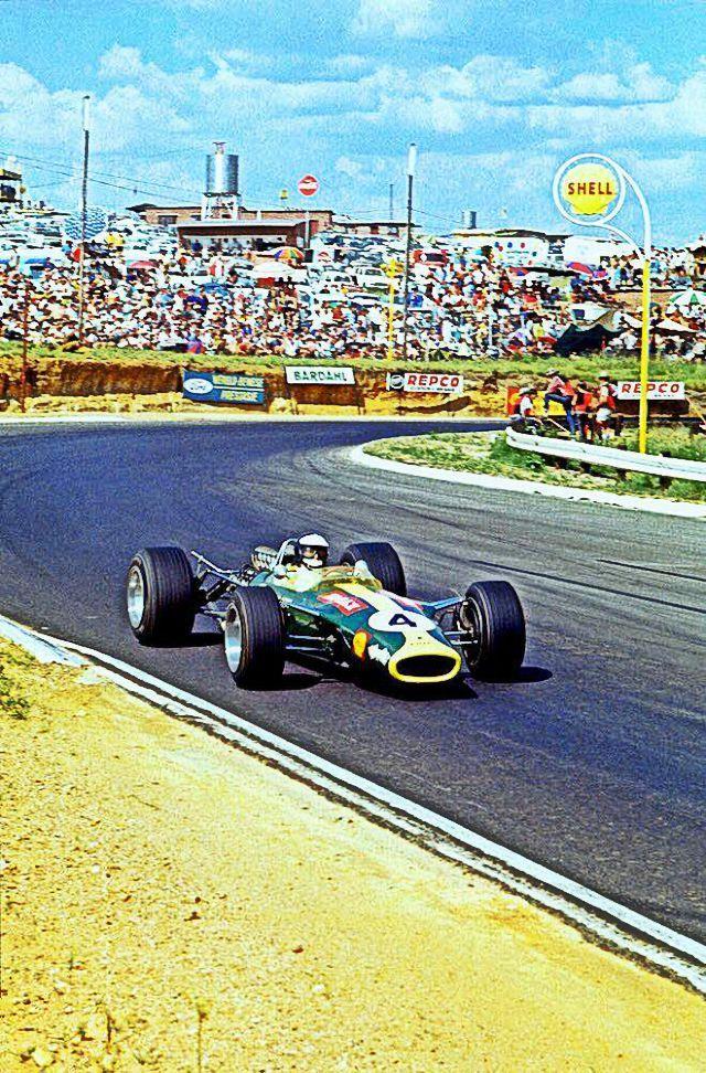 Jim Clark   Lotus   Kyalami, South African Grand Prix   1968