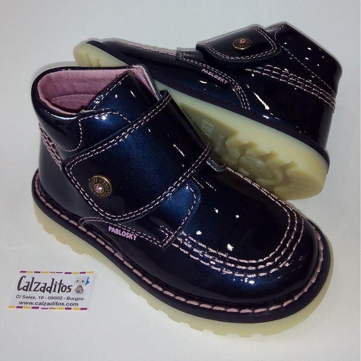 Zapatos azules Kickers para bebé pkuXhoAceu