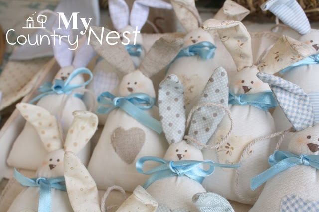 My country nest: beautiful bunnies