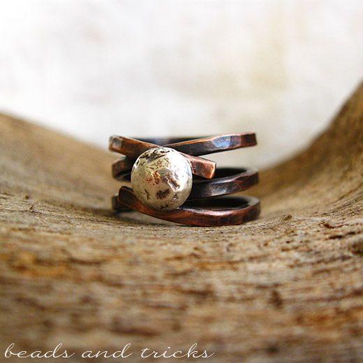 Filo di rame e argento riciclato   Handmade by Beads and Tricks