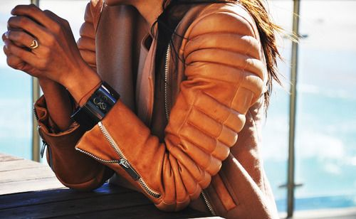 brown.leather.jacketFashion Details, Style, Jordans, Colors, Heart Rings, Motorcycles Jackets, Bomber Jackets, Leather Jackets, Tans Leather