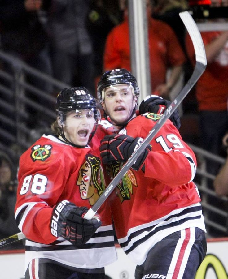 BREAKING: Blackhawks announce eight-year contract extensions for Jonathan Toews and Patrick Kane.