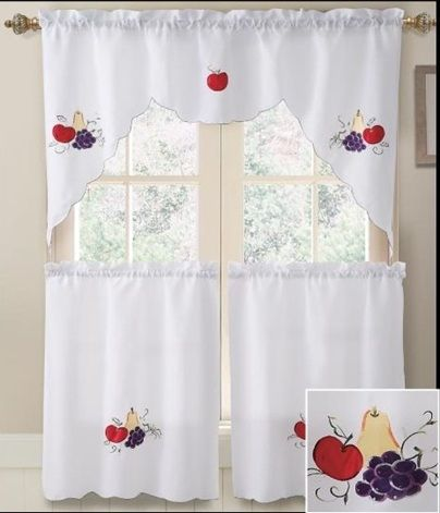14 best Kitchen Curtains images on Pinterest | Kitchen curtains ...