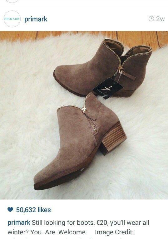 2015 Primark boots