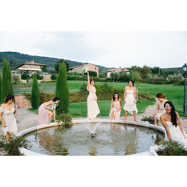 tlertpaisan this ‪#‎wcw‬ post is dedicated to my bridesmaids. i could not have asked for a better group of girls to stand by my side. thank you, ‪#‎teamlertpaisan‬! you girls are truly amazing. #‎bridesmaids‬ #‎patracywedding‬ #‎villabaroncino‬  #shabby-chic #inspiredshabby #chicvintage #inspirationwedding #tablewedding #weddingsinItaly #italianweddingplanners #gettingmarriedinitaly #italyweddings #weddinginitaly #weddingvenuesitaly #weddingsintuscany
