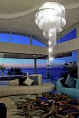 Private Residence in Clifton, Cape Town. A silver and smoke Spiral Nebula 1000 in a stylish Clifton home. #willowlamp #‎bespokelighting #chandelier #interior #lighting‬ #interiors #inspiredinteriors #lightingdesign #customlighting #chandelier #interiordesign #interiordecor #interiorstyle #interiorlovers #interior4all #interior4u #interiordecorating #interiorstylings #interiorarchitecture #interiores #interiorandhome #interiorforinspo #deco #homedesign #homestyle