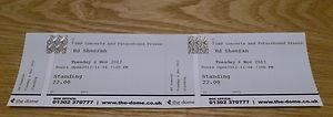Ed Sheeran Concert Ticket!