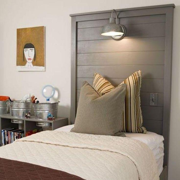 Best 25+ Custom headboard ideas on Pinterest | Rustic bedroom furniture,  Barn door headboards and Rustic headboards