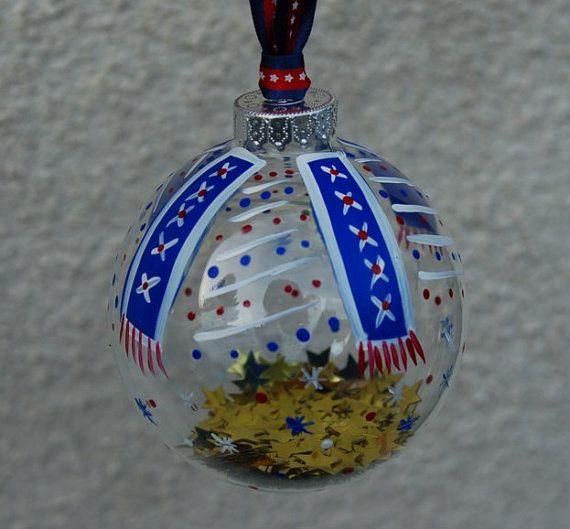 Patriotic Christmas Ornaments