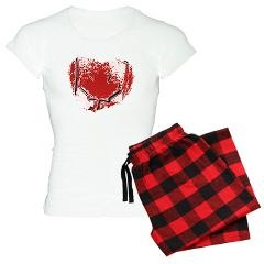 Love Canada Women's Light Pajamas