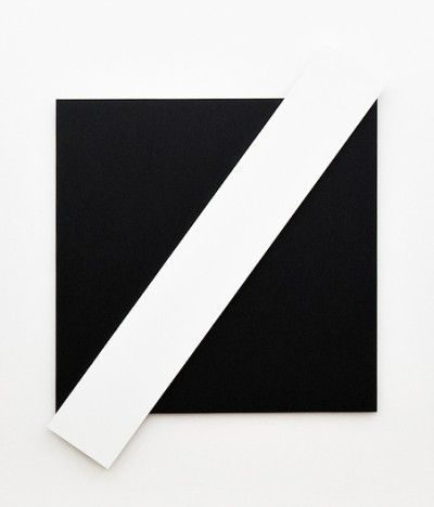 white diagonal (by ellsworth kelly).