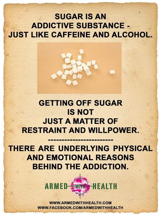 how to come off sugar addiction
