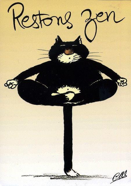 Faire du yoga quand rien ne va, c'est bidon